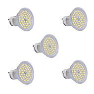 6W GU10 Focos LED 60 SMD 2835 540 lm Blanco Cálido / Blanco Fresco AC 100-240 V 5 piezas