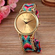 Women Big Circle Dial  National Hand Knitting Brand Luxury Lady Watch C&D-278