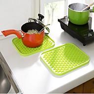 Pot Holder & Oven Mitt For Mert főzőedények Rozsdamentes acél Műanyag Hőszigetelő