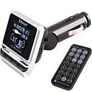 Nadajnik FM z zestawem samochodowym Bluetooth zestawu głośnomówiącego / z bezprzewodowego kontrolera / Bluetooth 2.0 / mp3 gra usb / karty