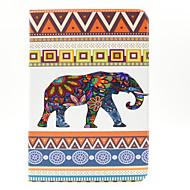 model elefant piele PU caz corp plin cu slot pentru card și să stea pentru Samsung Galaxy Tab un t550 9.7
