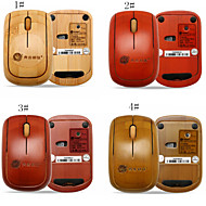 Good Quanlity A4TECH Handcrafted Bluetooth Wooden Mouse Mice
