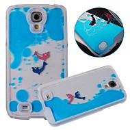 Varten Samsung Galaxy kotelo Virtaava neste Etui Takakuori Etui Piirros PC Samsung S4
