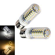 LED a pannocchia 80 SMD 3528 Ding Yao T E14 / E26/E27 7W 1000 LM Bianco caldo / Luce fredda 1 pezzo AC 220-240 V