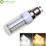 Ampoule Maïs Décorative Blanc Chaud/Blanc Froid SENCART GU10 12 W 56 SMD 5730 1600-1900 LM 3000-3500K 6000-6500K K AC 100-240/AC 110-130 V