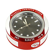 WEST BIKING® Cycling Clocks Aluminium Alloy MTB Bicycle Headset Clock Waterproof Quartz Watch Portable Headset Clock