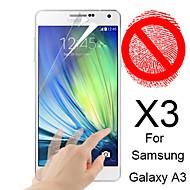 matte screen protector voor de Samsung Galaxy a3 (3 stuks)