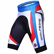 WOLFBIKE® Cycling Padded Shorts Men's Breathable / Quick Dry / Compression / 3D Pad BikeShorts / Pants/Trousers/Overtrousers / Underwear