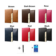 PU Leather Flip Cover For Apple iPad Air Case with Wallet Pocket and Card Holder Place+Screen Protector+Stylus