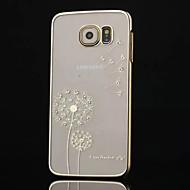 hochwertigen Diamant-Beschichtung Löwenzahn-Telefonkasten für Samsung-Galaxie s6 (verschiedene Farben)