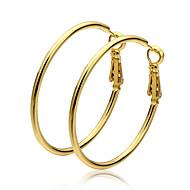 Κρίκοι Χρυσό Χρυσό Κοσμήματα 2pcs