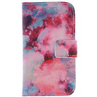 For Samsung Galaxy etui Kortholder / Med stativ / Flip / Mønster Etui Heldækkende Etui Landskab Kunstlæder Samsung Core Prime