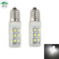 Zweihnder E14 3W 280LM 5500-6000K 28x2835 SMD White Light Corn Light (new products,AC 220-240V,2Pcs)