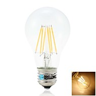 BRELONG E27 6W 6COB 600LM 2800-3200K Warm White Globe Bulbs (AC220-240V)