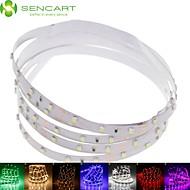 SENCART 1 M 60 3528 SMD Warm White/Hvid/RGB/Rød/Gul/Blå/Grøn Chippable/Dæmpbar/Koblingsbar/Passer til Køretøjer/Selvklæbende 4,5 W