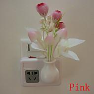 tulipano sogno principale di notte del sensore della lampada da parete della luce di controllo della luce