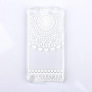 Weiß Blumenmuster pc harte rückseitige Abdeckung Fall für iPod-Note 5