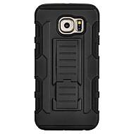 Mert Samsung Galaxy tok Ütésálló / Állvánnyal Case Hátlap Case Páncél PC SamsungS7 edge / S7 / S6 edge plus / S6 edge / S6 / S5 Mini / S5