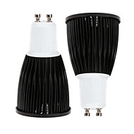 2 pcs Ding Yao GU10 15W 1X COB 50-100LM 2800-3500/6000-6500K Warm White/Cool White Spot Lights AC 85-265V
