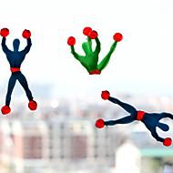 (5 stk) superman spiderman klatring viskositet (tilfeldig farge)