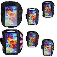 sport running armband arm band geval dekking zakje houder voor de Samsung Galaxy S4 s5 s6