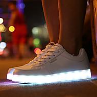 hommes conduit chaussures usb charge baskets en plein air / sport / mode casual bleu / bleu marine