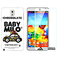 Explosion-Proof -Toughened Membrane Transparent Anti-Shock Pasted color-membrane for Samsung Galaxy Note 3