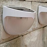 solare applique da parete da giardino scale recinzione lampade a led bianchi