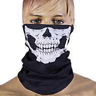 Face Mask Black General Unisex Seamless Outdoor Skull Tube
