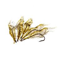 no Señuelos blandos 0.01 g 5 pcs 15x11.7x0.5 Pesca de baitcasting