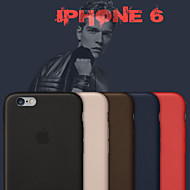 iphone 6のオリジナル本革バックカバーケース(アソートカラー)