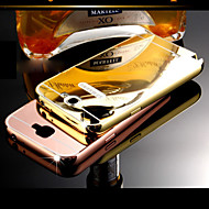 DUBAI® Luxury Super Thin Shine Acrylic Mirror Cover Back Plating Metal Frame Full Body Case for Samsung Galaxy Note2