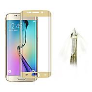 angibabe ultra dunne 0.1mm explosieveilige zachte TPU kleurrijke screen flim voor Samsung Galaxy s6 rand