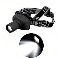 1 모드 500 루멘 여행 / AAA 방수 LED 캠핑 / 등산 / 동굴 탐험 / 자전거 / 사냥 헤드 램프