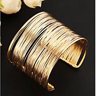 Damen Manschetten-Armbänder Einzigartiges Design Modisch Mehrlagig Ohne Verschluss Europäisch Vintage Modeschmuck Aleación Schmuck Schmuck