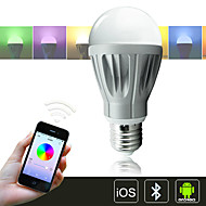 H+LUX™ LED A60 E27 11W 900lm Ra86 3000-6500K RGBCW Bluetooth Control Color Changing/Dimmable Smart Light Bulb AC85-265V