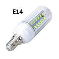 marsing® e14 / e27 arg design 10w 900lm 56 x smd 5730 ledde varm / kallt vitt ljus majs lampa lampa - (ac 220V)