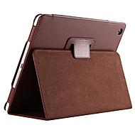 For iPad (2017)Solid Color Full Body PU Leather Case with Stand for iPad Pro 9.7 Air Air 2 mini 123 mini4