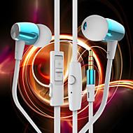 iphone6에 대한 밀 귀 와이어, 아이폰 6 플러스와 byz k460 음악 헤드셋 귀 금속 헤드셋