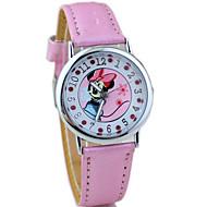 Children's PU Band Cute Cartoon Analog Wrist Watch Cool Watches Unique Watches Fashion Watch