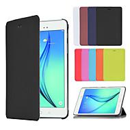 Για Samsung Galaxy Θήκη με βάση στήριξης / Ανοιγόμενη / Οριγκάμι tok Πλήρης κάλυψη tok Μονόχρωμη Συνθετικό δέρμα SamsungTab A 9.7 / Tab A