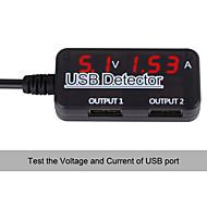 usb detactor spänning strömmätare testare monitor solpanel inriktnings testare Mobile Power bildskärm