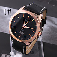 Men's Fashion  Grade Simple Business Neutral Quartz Belt Watch