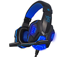 Plextone PC780 Dazzle bule light Wired Headphones  With Microphone/Volume Control/Gaming/Noise-Cancelling forMedia