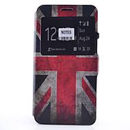 Varten Samsung Galaxy Note Korttikotelo / Tuella / Ikkunalla / Flip / Kuvio Etui Kokonaan peittävä Etui Lippu Pehmeä Tekonahka Samsung