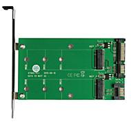 maiwo USB3.0 2x sata to2x m.2 (ngff) kt005a placa de interface de cartão