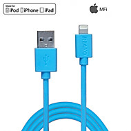 rtako®3.3ft (1m) mfi gecertificeerde bliksem naar USB-synchronisatie- en oplaadkabel voor de Apple iPhone 5 / 5s / 6/6 plus / ipad mini