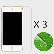 (3 stuks) high definition screen protector flim voor ipod touch 6