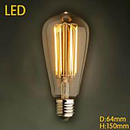ecolight® Ecolite tm E27 LED 4W 3700K warm weiß Loft retro Industrie Lampe LED-Edison-Birne (AC220 ~ 265V