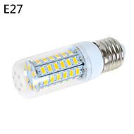 1 pcs E14/G9/E26/E27 12 W 56 SMD 5730 1200 LM Warm White/Cool White B Corn Bulbs AC 220-240/AC 110-130 V
